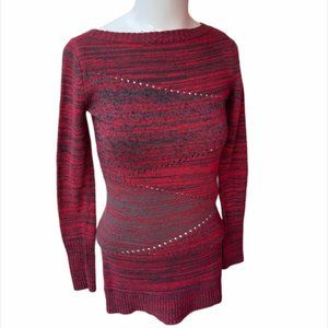 Armani Exchange Knitted Blouse Long Sleeves Sz XS